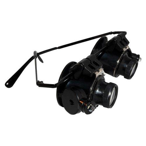 Huismerk Vergrootglas Bril LED Light