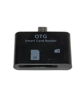 Huismerk Micro USB OTG Connectionkit Zwart