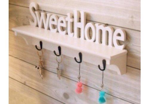Huismerk Sweet Home Kapstok