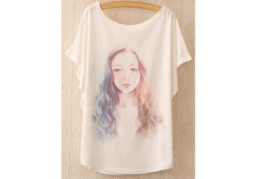 Huismerk Loose Korte Print T-shirt 2