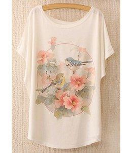 Huismerk Loose Korte Print T-shirt 3