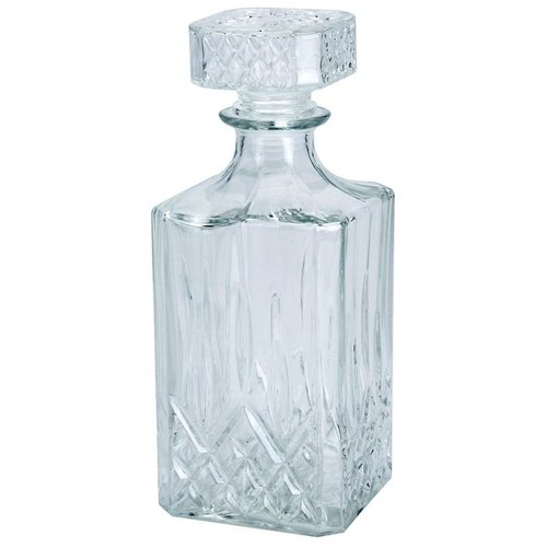 Huismerk Whiskey / Wodca karaf glas (0.9 l)