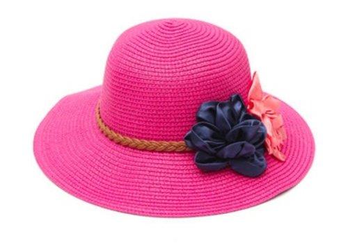 Huismerk Elegant Bloemen Floppy Hoed Roze