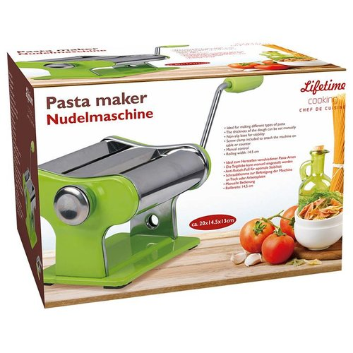 Huismerk Pasta machine maker lifetime cooking groen