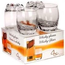 Whiskey / Wodca glazen 4 stuks 255 ml