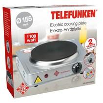 Elektrische kookplaat (1000W) 155 mm Zilver