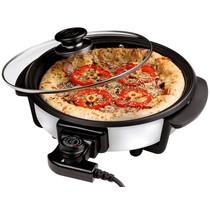 Pizzapan met glazen deksel (30cm)