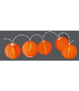Party Lighting Feestverlichting lampionnen  (rond oranje)