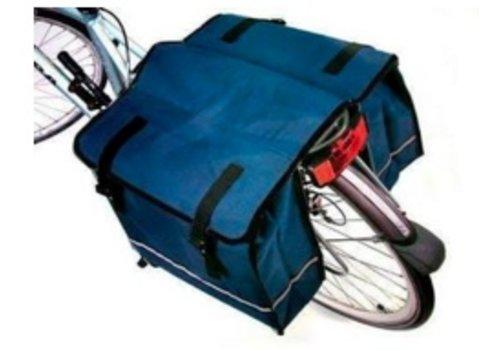 Dubbele fietstas Blauw