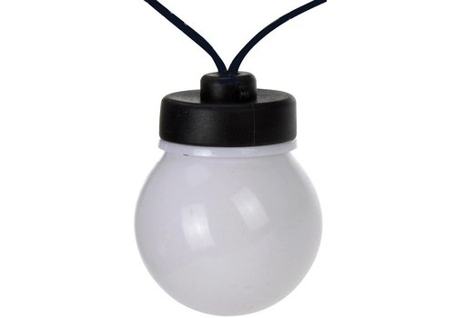 Feestverlichting (20 witte LED lampen) - Copy