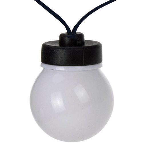 Huismerk Feestverlichting (20 witte LED lampen) - Copy