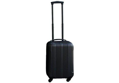 handbagage koffer ABS zwart
