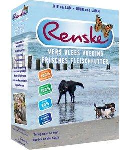 Renske vers vlees voeding hond vakantie
