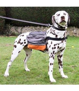 Rosewood hondenrugzak grijs / oranje