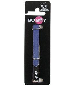 Bobby kattenhalsband adres donkerblauw