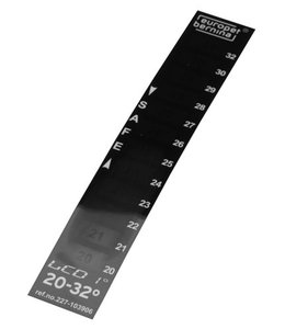 Ebi thermometer lcd 20-32 graden