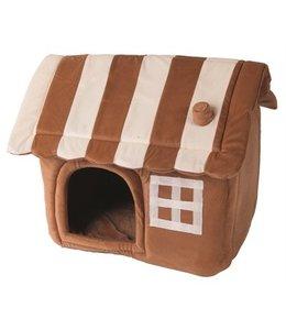 Petcomfort honden/kattenhuis dream village beige/bruin