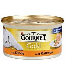 24x gourmet gold mousse kalkoen