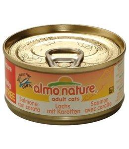 Almo nature cat zalm/wortel