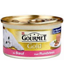 24x gourmet gold mousse rund