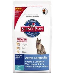 Hill's feline mature adult active longevity tonijn