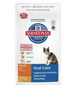 Hill's feline adult oral care