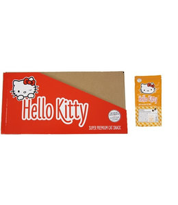 18x hello kitty super premium kattensnoepjes kalkoen / blauwe bosbes