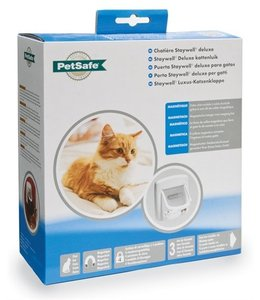 Petsafe kattenluik tot 7 kg magnetisch slot wit