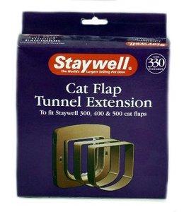 Petsafe tunnelstuk voor kattenluik 330 hout