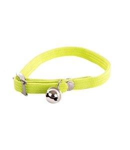 Halsband kat elastisch nylon groen