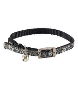 Rogz for cats sparklecat halsband zwart