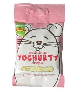 Delicious yoghurty drops