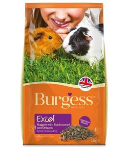 Burgess excel guinea pig blackcurrant & oregano caviavoer