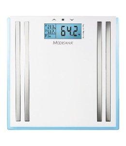BMI Personenweegschaal 180 kg Wit/Zilver