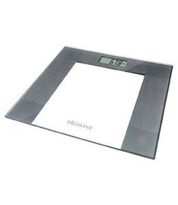 Digitale Personenweegschaal 150 kg Transparant/Grijs