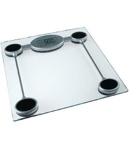 Digitale Personenweegschaal 150 kg Transparant