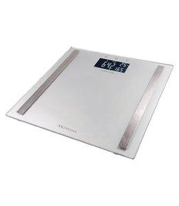 BMI Personenweegschaal 180 kg Zilver