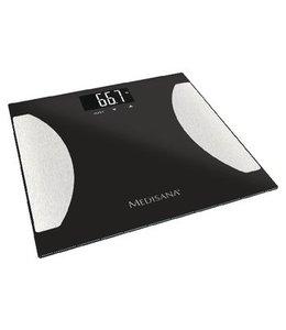 BMI Personenweegschaal 180 kg Zwart