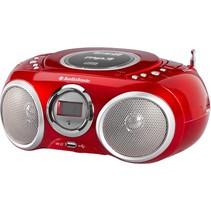 AudioSonic stereo radio CD AudioSonic stereo radio CD 570 Rood