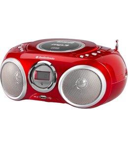 Audiosonic AudioSonic stereo radio CD AudioSonic stereo radio CD 570 Rood