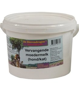 Dierendrogist vervangende moedermelk