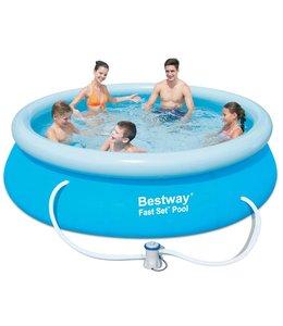 Bestway Zwembad Fast Set (305x76), inclusief filterpomp