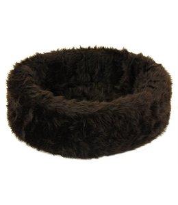 Petcomfort katten/hondenmand bont bruin