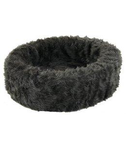 Petcomfort katten/hondenmand bont grijs