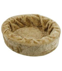 Petcomfort katten/hondenmand bont beige