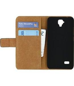Mobilize Smartphone Classic Wallet Book Case Huawei Y5 Zwart