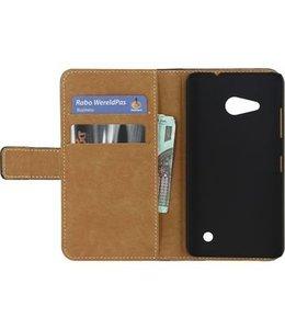 Mobilize Smartphone Classic Wallet Book Case Microsoft Lumia 550 Zwart