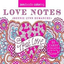 Zendoodle Coloring Love Notes