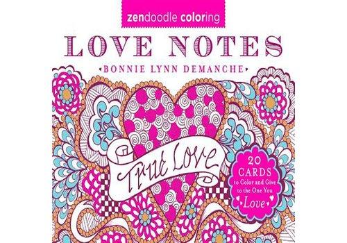 Demanche, Bonnie Lynn Zendoodle Coloring Love Notes