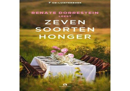 Zeven soorten honger, 7 cd's van en voorgelezen door Renate Dorrestein.